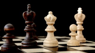 Open Chess Knights